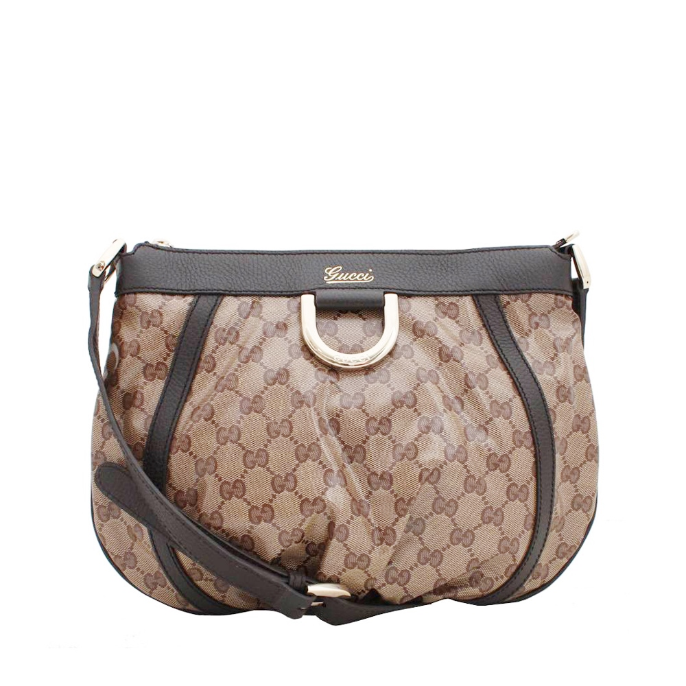 cd7fe8344c6 Gucci Abbey Shoulder Bag Crystal Canvas Crystal Canvas Gucci G