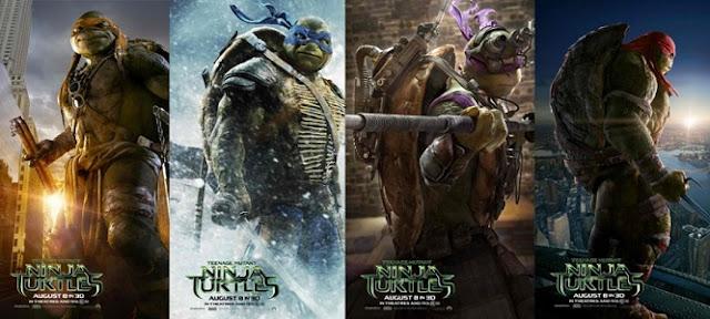 Ninja Kaplumbağalar İsimleri ve Hakkında İlginç Bilgiler