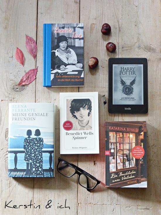 Neue Bücher für den Herbst u.a. Harry Potter
