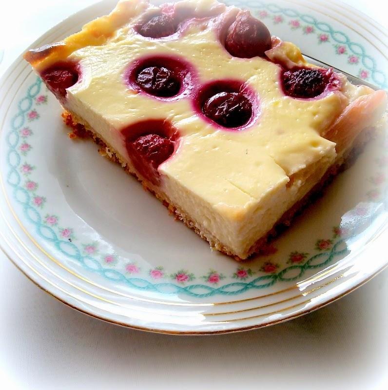 simi s foodblog puddingkuchen mit kirschen