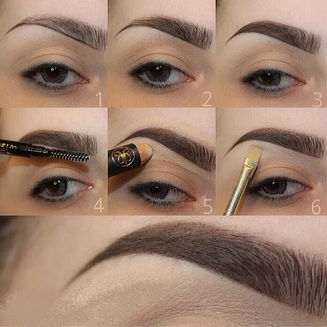 Como maquillar tus cejas de manera profesional