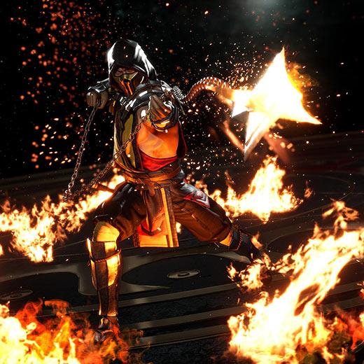 Scorpion Mortal Kombat 11 Wallpaper Engine