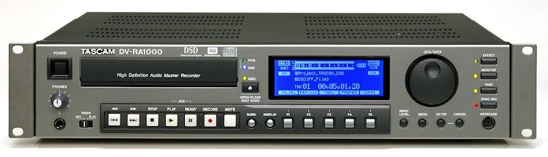 TASCAM DV RA-1000   USB Reference Digital Recorder DSD