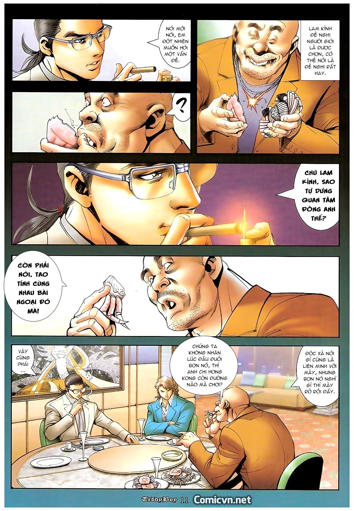 Người Trong Giang Hồ - Chapter 1246: Ngũ Hổ trùng tổ - Pic 10