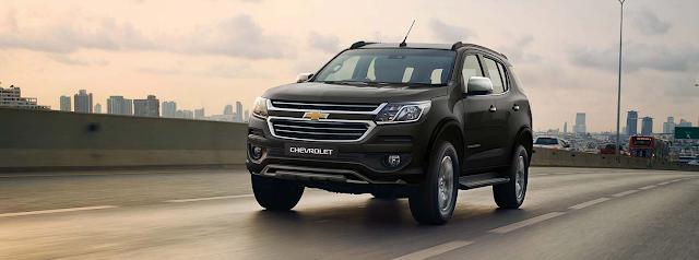 Spesifikasi dan Harga Chevrolet TrailBlazer Terbaru
