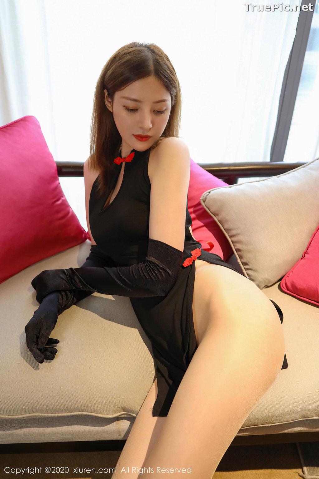 Image XIUREN No.2476 - Chinese Model - 樱花Elsa - Sexy Chinese Dress - TruePic.net - Picture-2