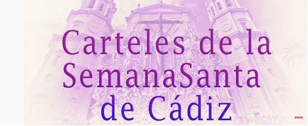 Carteles de la Semana Santa de Cádiz desde 2020 hacia atrás