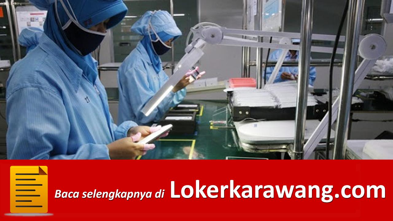 Lowongan Kerja Operator Produksi   PT. Haier Electrical Appliances Indonesia EJIP Cikarang - LOKER KARAWANG JUNI 2020 Juni 2020