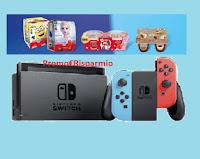 """Concorso Danone """"Che forza la tua merenda"""" vinci Nintendo Switch"""