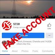 Laman Facebook 'SESB' Bukan Merupakan Laman Facebook Rasmi SESB