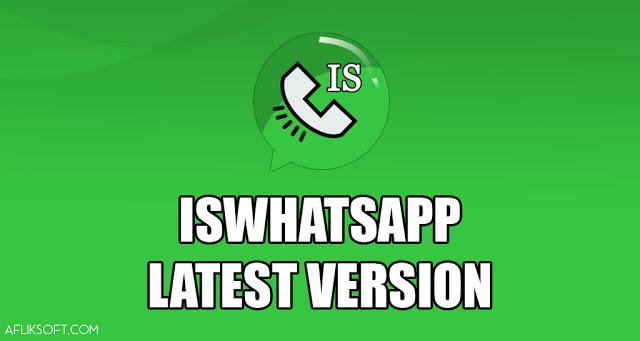 تحميل واتساب اسماعيل القاسم اخر اصدار ISWhatsApp V7.40 ضد الحظر اخر اصدار 2020