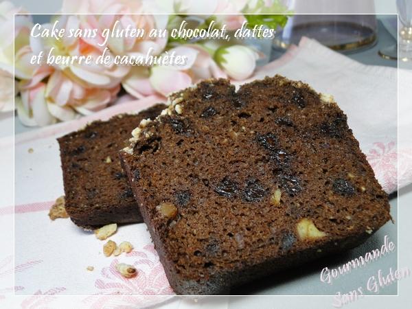 cake sans gluten sans sucre et sans lactose avec dattes