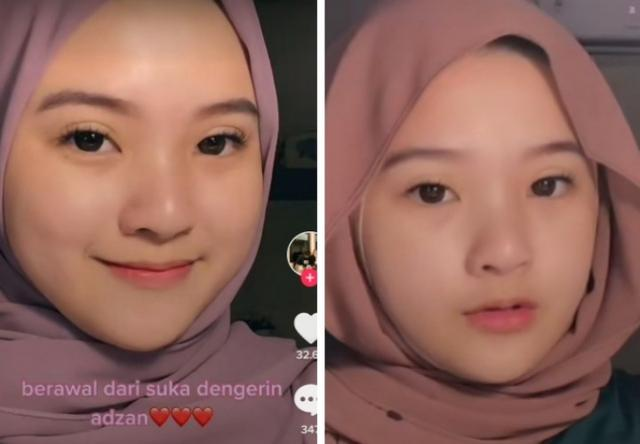 Gadis Cantik Ini Pindah Agama Gara-gara Dengar Azan, Respon Netizen Tak Terduga