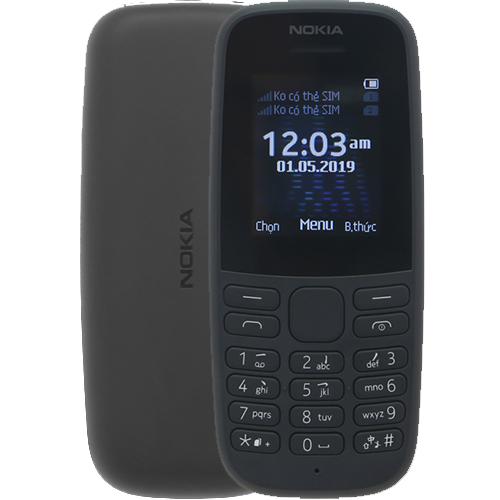 Điện Thoại Nokia 105 DS VN Black (2019)