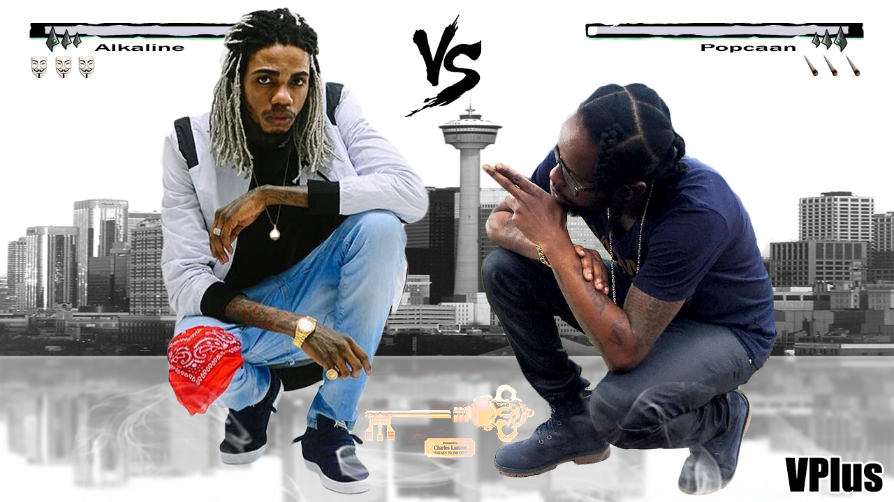 Alkaline Vs Popcaan | War Clash Songs | New 2016 | VPlus | VPlus