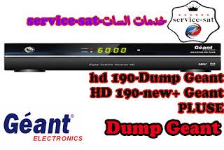 Dump Geant-190 hd new+ Geant-190 HD PLUSE
