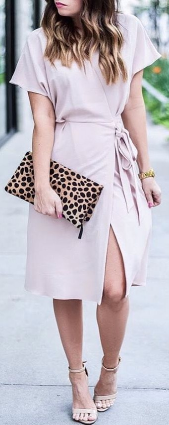 pink blushing | office outfit