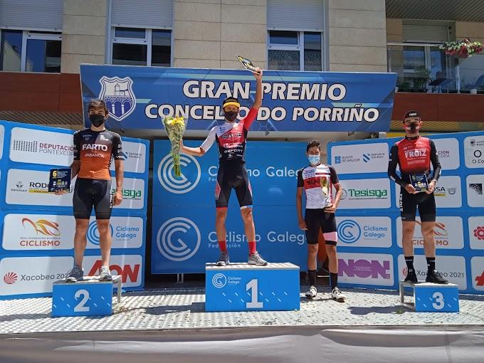 Luis Flauzino consiguió la victoria Sub23 en Porriño