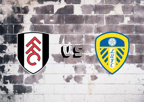 Fulham vs Leeds United  Resumen y Partido Completo