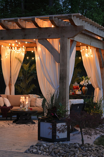 Backyard Glamping this Summer