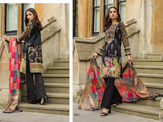 Yashika Mahnoor bin saeed vol 1   Pakistani lawn Suits Wholesale Price