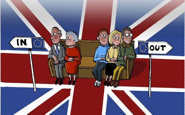 A vuelapluma. Referéndum en el Reino Unido: Perspectivas, escen