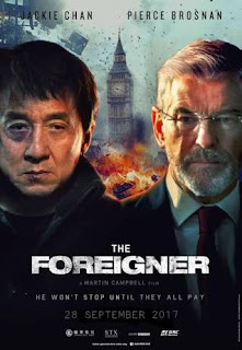 Upcoming Hollywood movie The Foreigner starring Jackie Chan and pierce Brosnan theatrical trailer released