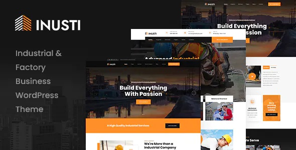 Best Factory & Industrial WordPress Theme