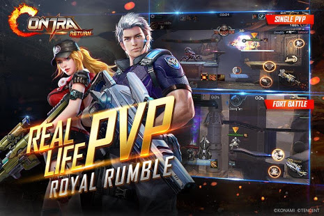 Garena Contra: Return Apk Full