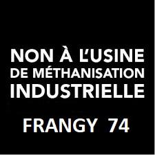 NON à l'Usine de méthanisation, Frangy, Haute-Savoie