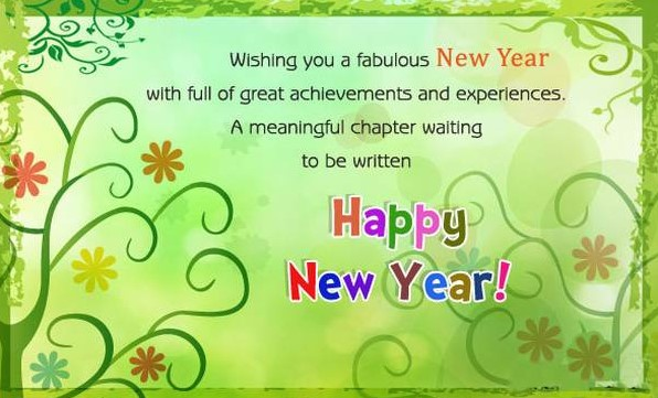 happy new year sms for friends