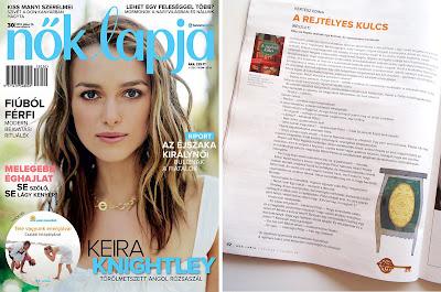 cb89ceba0f A múlt héten megjelent Nők Lapjában, melynek borítóján Keira Knightley  látható (még kapható, csak azért mondom, ha valaki rohanna, az ő arcát  keresse), ...