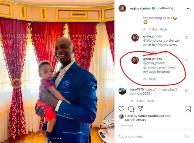 'Ned Nwoko Is Sleeping With Two Of Regina's Friends' - Instagram User
