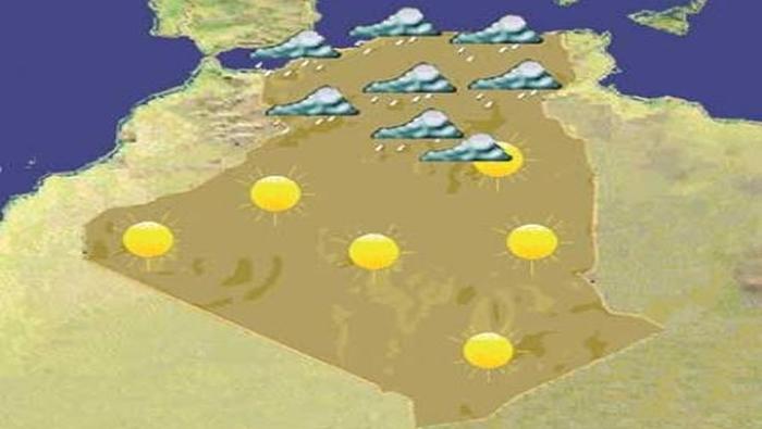 2b87d8899e33d يتوقع أن تتغير حالة الطقس في الأيام القادمة وذلك راجع إلى نشاط وديناميكية  بحالة الجو في عدة مناطق بالوطن، وذلك مع استمرار تقدم خط الفاصل المداري  شمالا مرورا ...