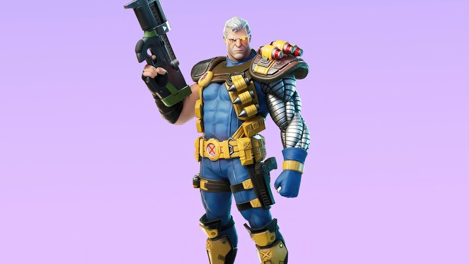 Cable, Fortnite, Skin, Outfit, 4K, #7.1888