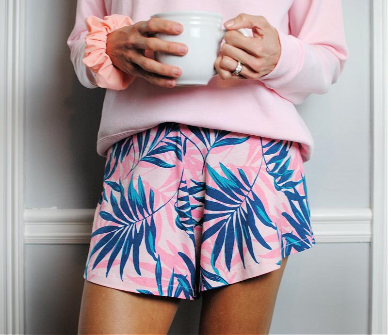 DIY: Sew Your Own Lounge Pajama Shorts