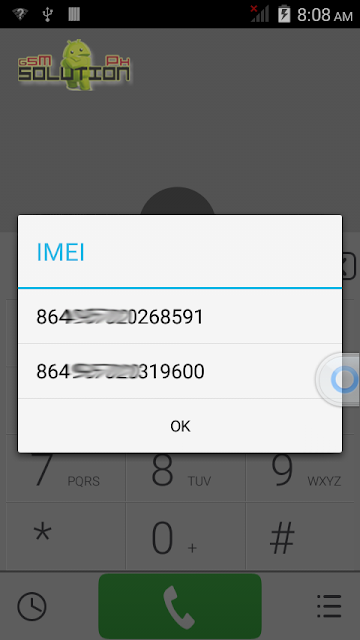 Invalid imei fixed