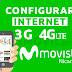 Configurar APN Movistar Nicaragua Internet 3G y 4G LTE 2019