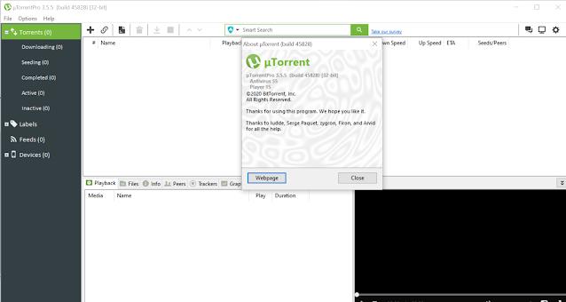 تحميل برنامج Utorrent Pro Full 3.5.5 اخر إصدار كامل تفعيل