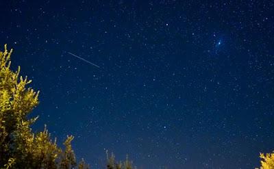 chuva de meteoros no Japão