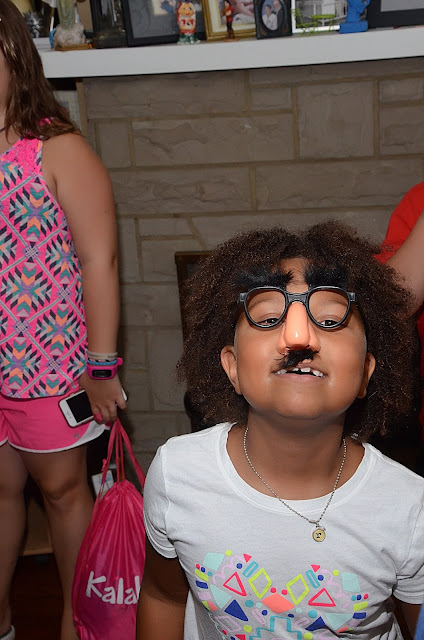 Throwing a Surprise Party + moustaches