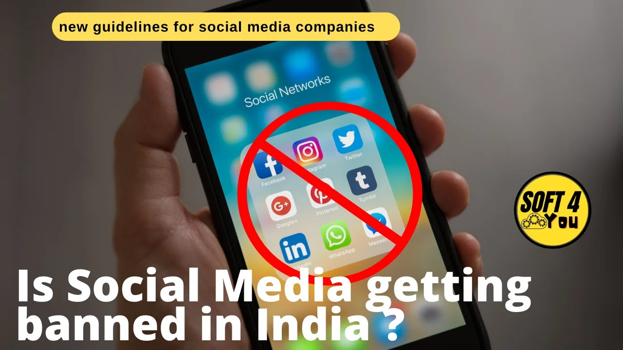 Is Instagram,facebook,Whatsapp, Twitter getting banned in India