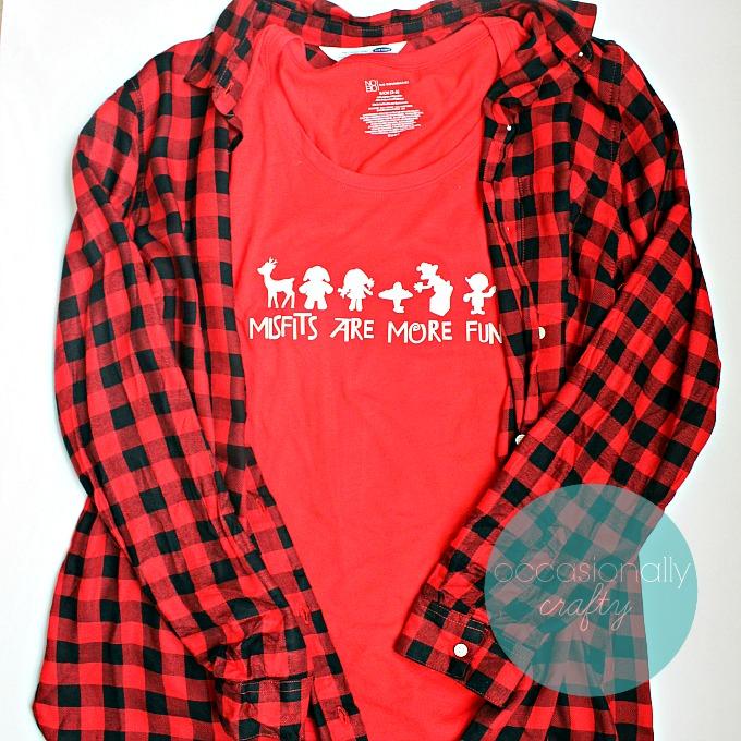 Misfit Toys Christmas Tshirt