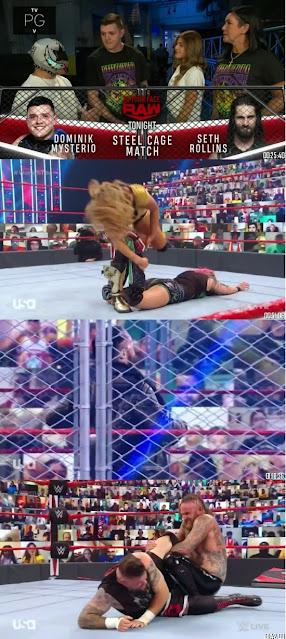 WWE Monday Night Raw 14th Sep 2020 480p 300Mb HDTV || 7starHD