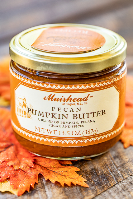 jar of pumpkin butter