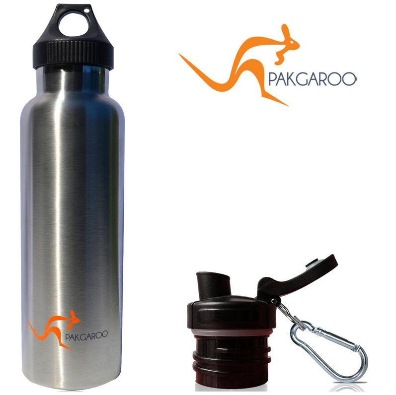 PackGaroo 22 oz. - Insulated Stainless Steel, bpa free