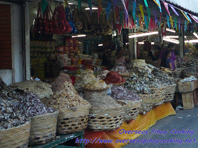 Tabo-an Dried Fish Market