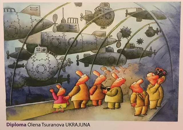 The Winners of Submarine International Cartoon Contest 2019, Serbia Olena Tsuranova
