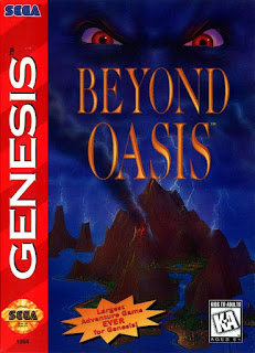 Portada videojuego Beyond Oasis - The Story of Thor