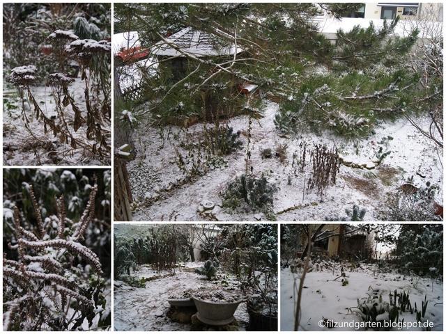 Der erste Schnee im Corona-Winter